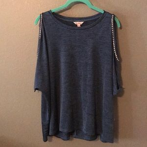 XL NWT Juicy Couture Blue Blouse